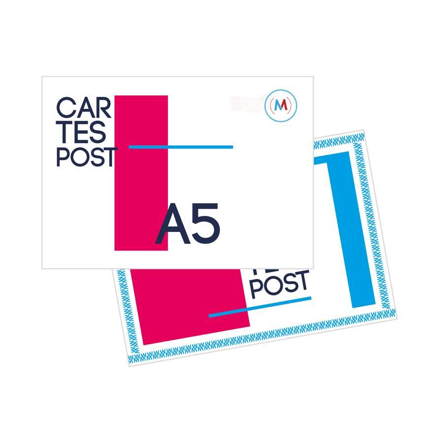 Cartes postales A5 1