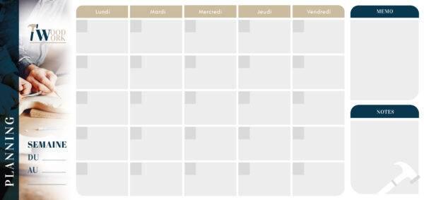 Planning mensuel 5 jours 3