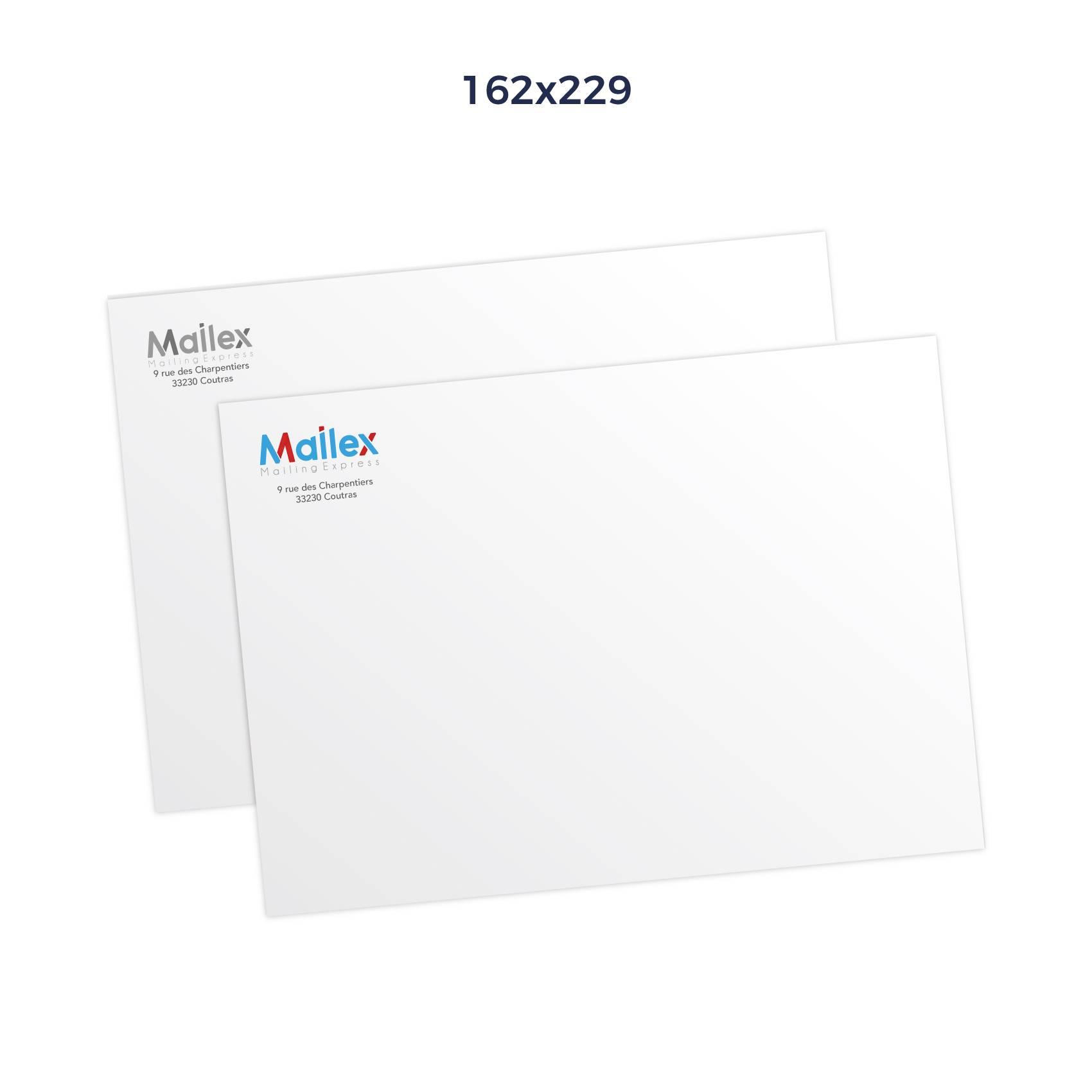 Enveloppes 162x229 Mécanisable 80g