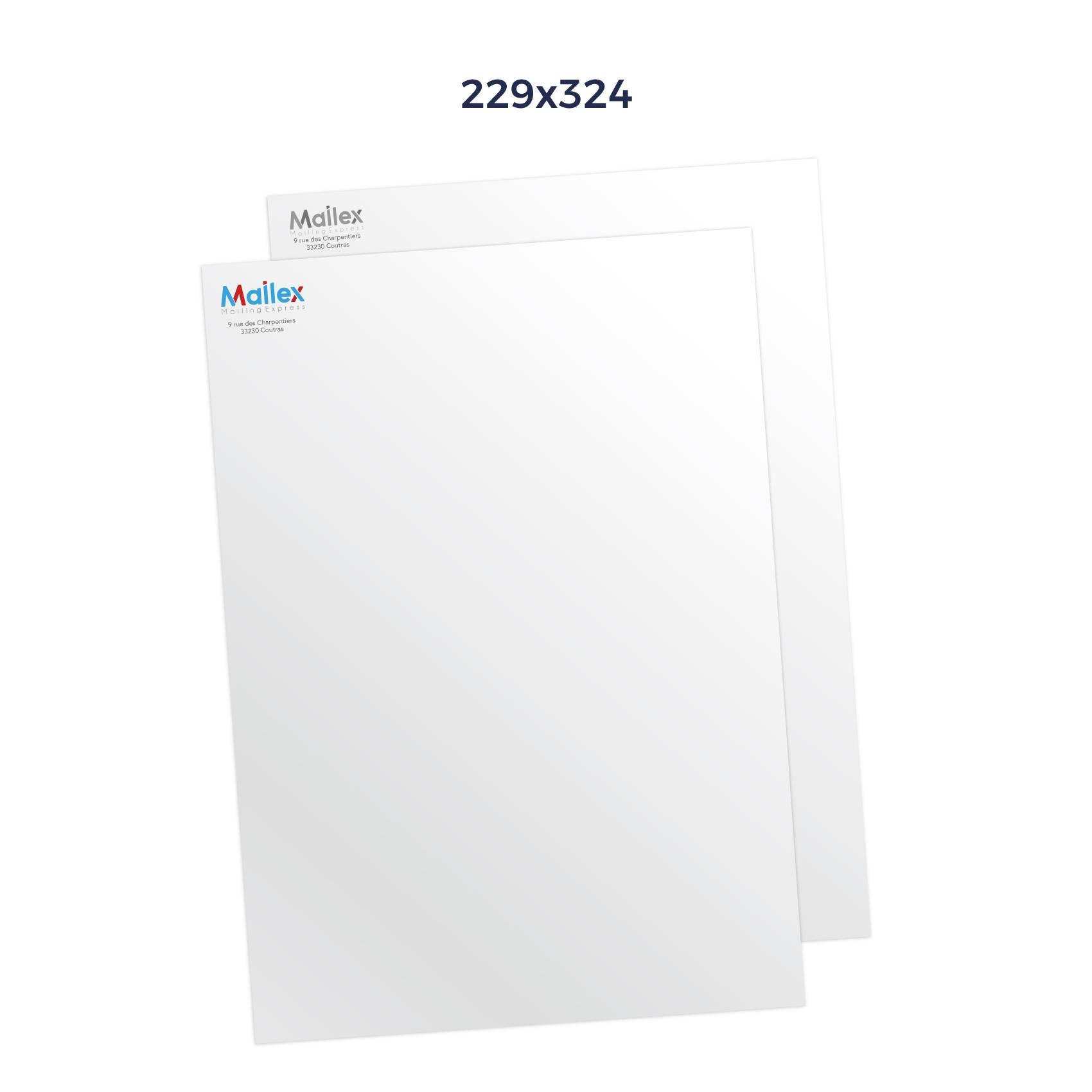 Enveloppes 229x324 Mécanisable 90g