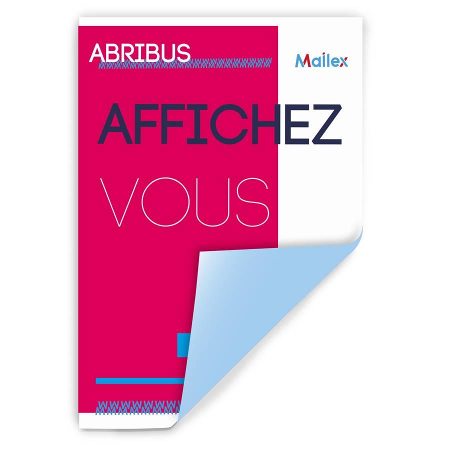 Affiche Abribus 54
