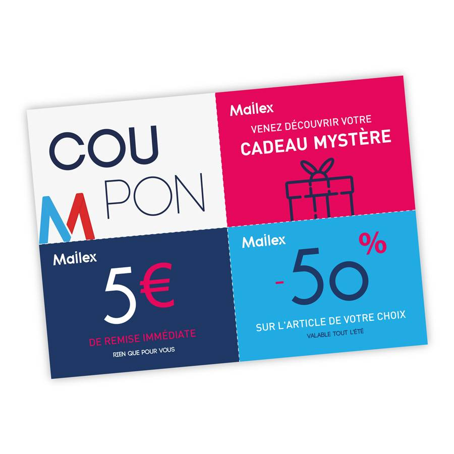 Coupons perforés 37